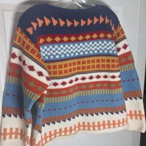 Primal Print Peruvian Sweater
